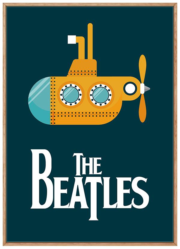 Quadro Infantil Beatles Baby Rock