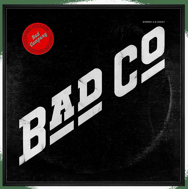 Quadro Decorativo Bad Company - Rock Vinil na Parede