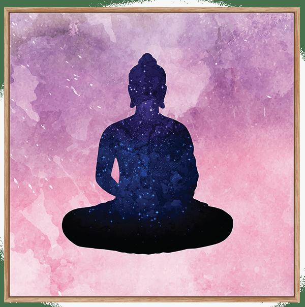 Quadro Buda Sentado Yoga