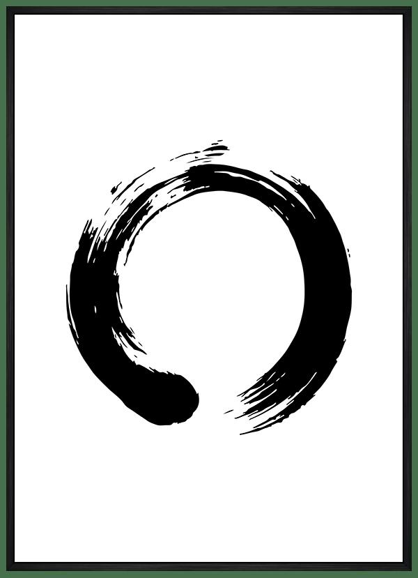 Quadro Círculo Zen