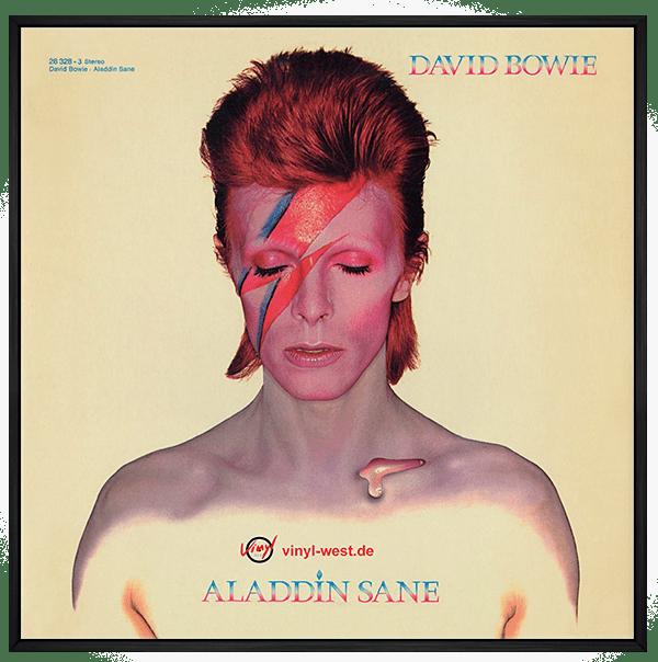 Quadro David Bowie - Vinil na Parede