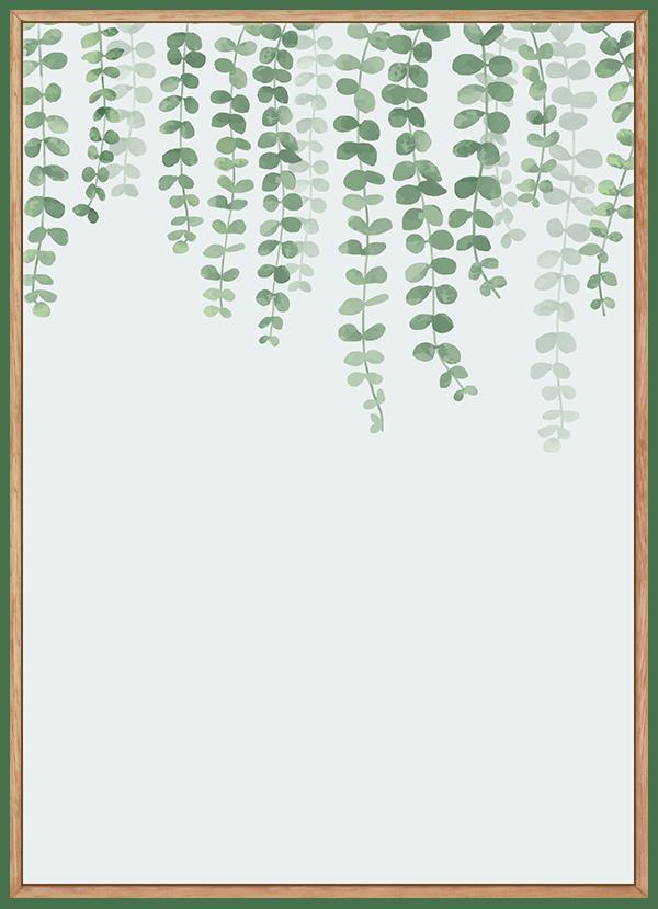 Quadro Planta Folhas