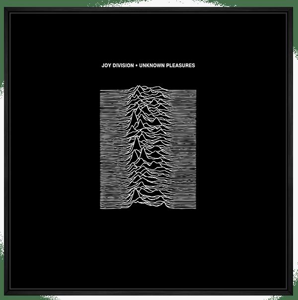 Quadro Joy Division - Rock Vinil na Parede