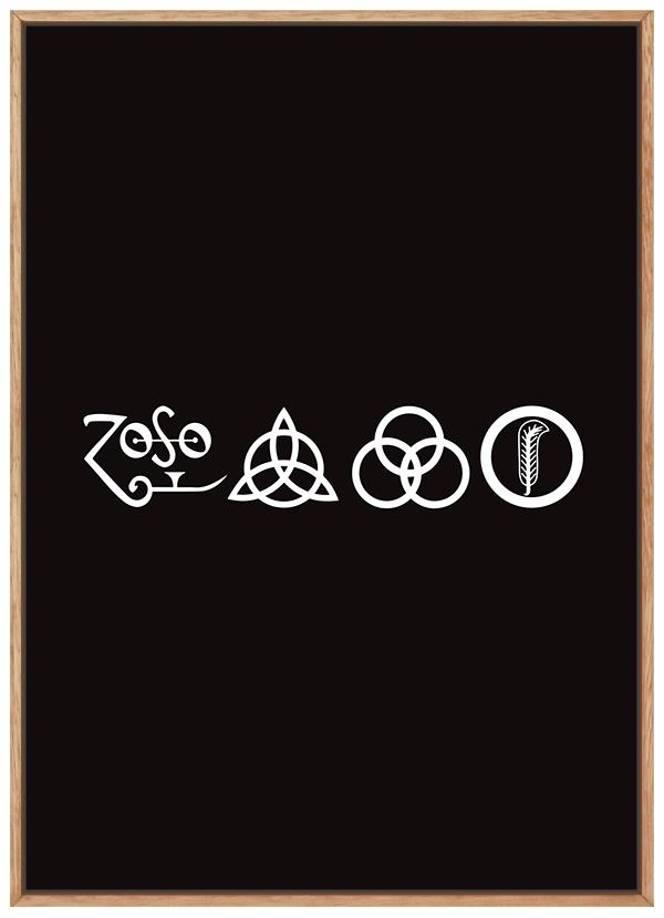 Quadro Música Led Zeppelin