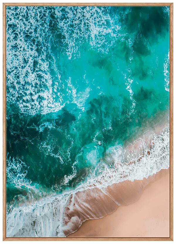 Quadro Mar Praia