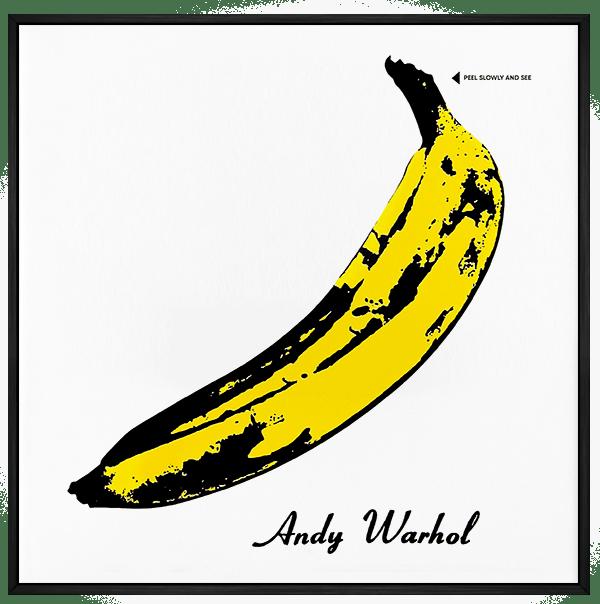 Quadro Velvet Underground - Rock Vinil na Parede