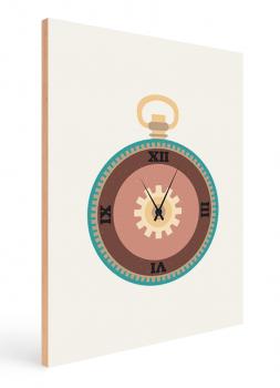 Quadro Decorativo Infantil Relógio Steampunk