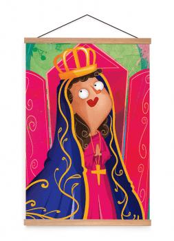 Quadro Decorativo Infantil Nossa Senhora Aparecida