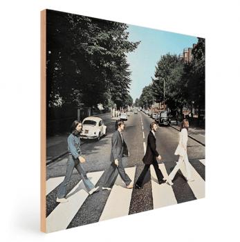 Quadro Decorativo Beatles Abbey Road - Rock Vinil na Parede