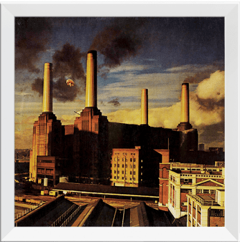 Quadro Decorativo Pink Floyd Animals - Rock Vinil na Parede