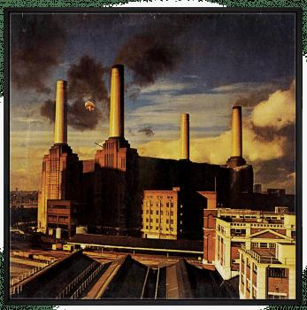 Quadro Pink Floyd Animals - Rock Vinil na Parede
