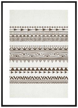 Quadro Decorativo Étnico Arabesco