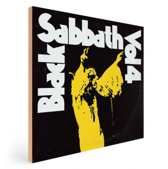 Quadro Decorativo Black Sabbath Vol. 4 - Rock Vinil na Parede