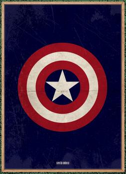 Quadro Capitão América - Super-Herói