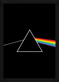 Quadro Decorativo Pink Floyd Dark Side