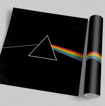Quadro Pink Floyd Dark Side - Rock Vinil na Parede