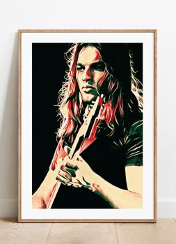 Quadro Pink Floyd David Gilmour