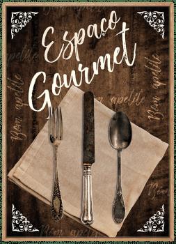 Quadro Cozinha Espaço Gourmet