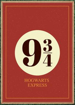 Quadro Harry Potter - Plataforma