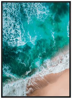 Quadro Decorativo Mar Praia