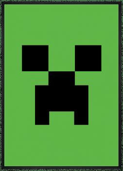 Quadro Minecraft Creeper Video Game