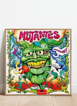 Quadro Decorativo Mutantes - Vinil na Parede