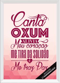 Quadro Decorativo Umbanda orixá Oxum - Rosa