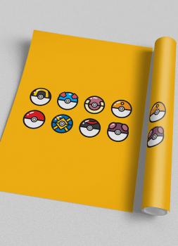 Quadro Pokemon