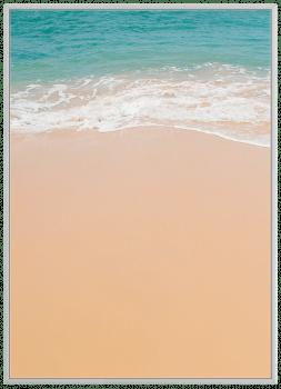 Quadro Decorativo Paisagem Praia Mar