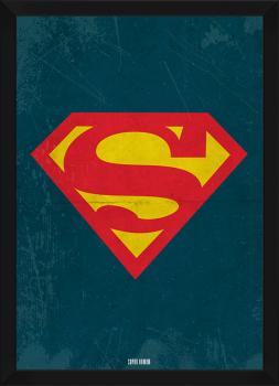 Quadro Decorativo Super Homem - Super Heroi