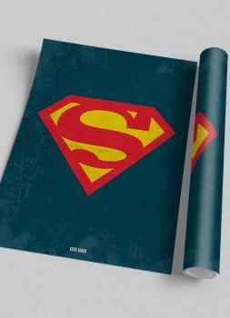Quadro Super Homem - Super-Herói