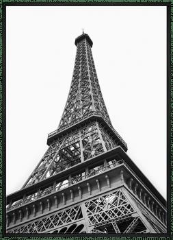 Quadro Torre Eiffel Paris Fotografia Turismo
