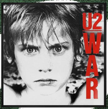 Quadro Decorativo U2 War - Rock Vinil na Parede