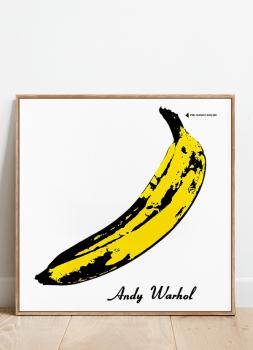 Quadro Decorativo Velvet Underground - Rock Vinil na Parede