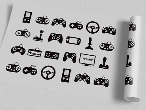 Quadro Controles Video game