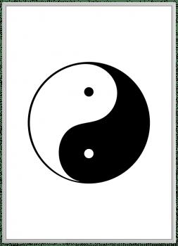 Quadro Decorativo YinYang 2