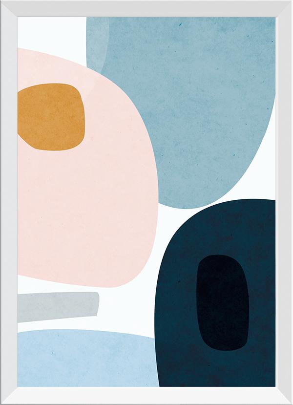 Quadro Decorativo Abstrato Orgânico 1