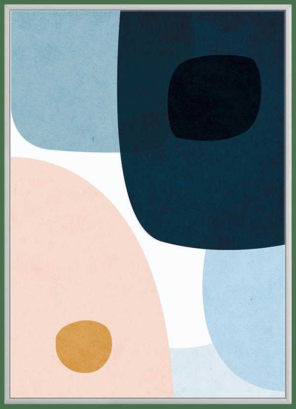 Quadro Decorativo Abstrato Orgânico 2