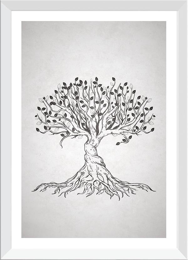 Quadro Decorativo Árvore da Vida