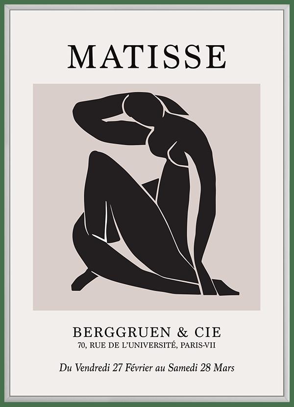 Quadro Decorativo Abstrato Berggruen e Cie 2 - Matisse