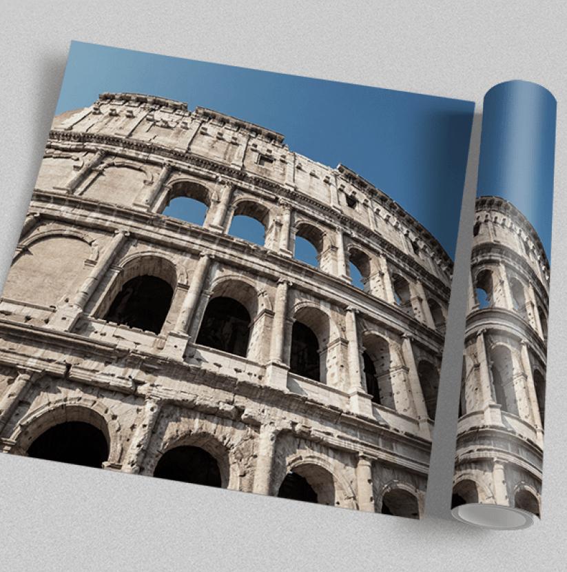 Quadro Decorativo Coliseu Fotografia