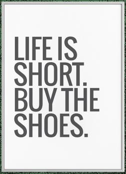 Quadro Decorativos Sapatos Buy Shoes Moda Fashion
