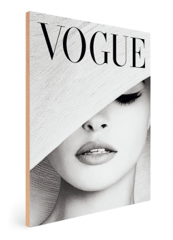 Quadro Decorativo Capa Vogue Fashion Moda