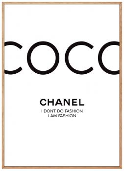 Quadro Decorativ Coco Chanel Moda Fashion