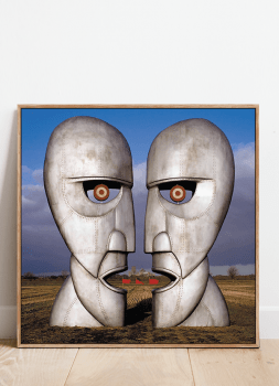 Quadro Pink Floyd Division Bell - Rock Vinil na Parede